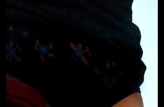 Boy masturbating wearing his friend'_s mom'_s stolen sexy panty
