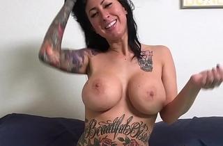 Blowjob and Fucking Tattooed MILF Lily Lane