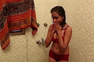 Hawt Bathroom Scene - Lal Chhadi In Bathroom