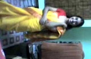 Indian Lucknow Girl rapine saree after party
