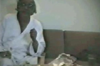 Indian Babes round old man