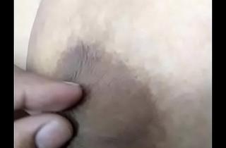 Desi Wife Enjoying Big Boobs nipples pulled