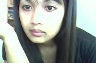 Indian on web camera