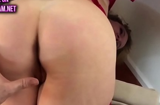Stepmom stuck on the couch