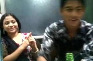 Horny Bagladeshi Girl Pat back her boy frined