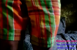 horny Indian desi cute teen gets ready for action part (1)