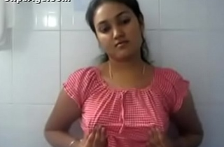 VID-20161029-PV0001-Kolhapur (IM) Hindi 21 yrs old unmarried college girl Sarah boobs dominated by herself (Masturbation) at girls hostel bathroom sex porn video