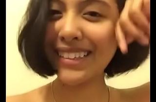 Teen indian girl selfie