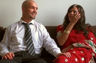 Desi indian is pounded wide of husband