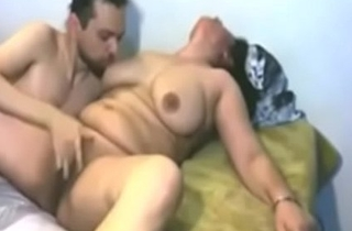 Indian mature mummy passionate fuck with lover