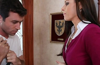 Pithy titted mom india summer making out