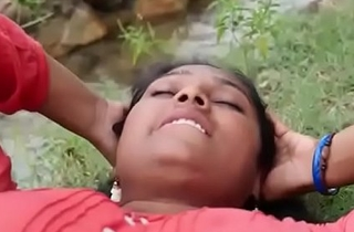 Indian repast Sexy village Aunty intrigue in outdoor hot sex flick part-2