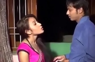 Bhabhi coupled with dever lodging alone sex in india desi