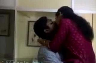 Horny mallu lovers caught having fun in office