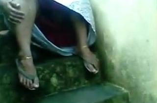 Chap-fallen Indian Kerala Busty Aunty Pussy