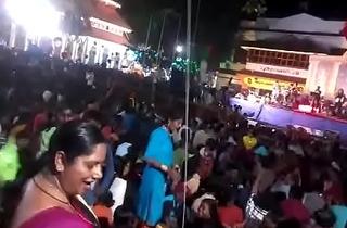 Aunty ass dance in concert more visit indianvoyeur.ml