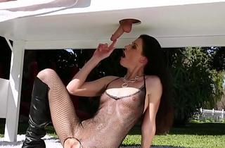 Horny MILF India Summer cock milking